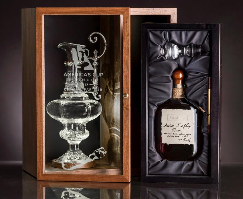 Goslings Black Seal Rum has become the de facto rum of sailors-