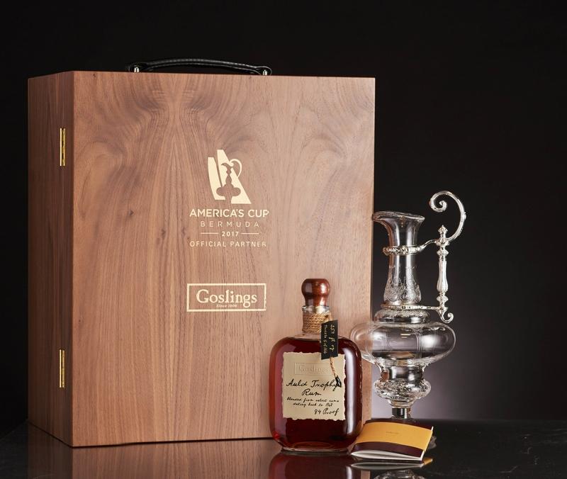 Goslings Black Seal Rum has become the de facto rum of sailors