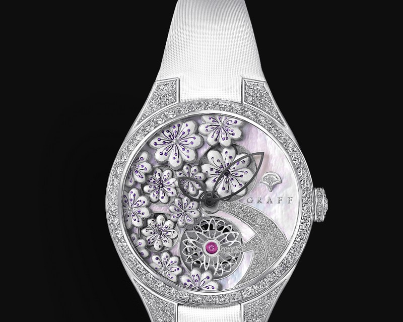 Graff Floral Timepieces-new watches for Baselworld 2018-