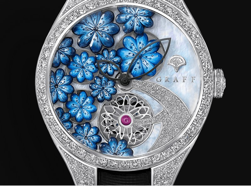 Graff Floral Timepieces - new watches for Baselworld 2018