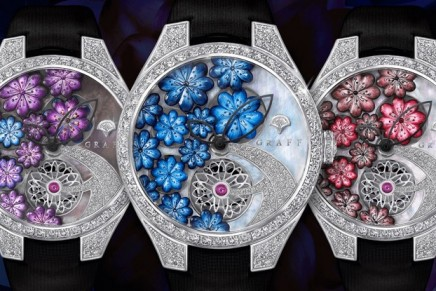 Graff Floral: Haute horology is combined with artisanal savoir-faire