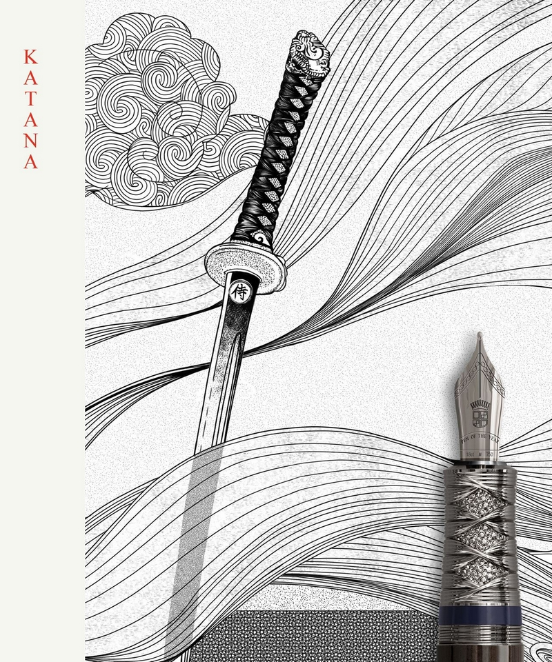Graff Von Faber Castell Pen of the Year 2019 - Samurai edition