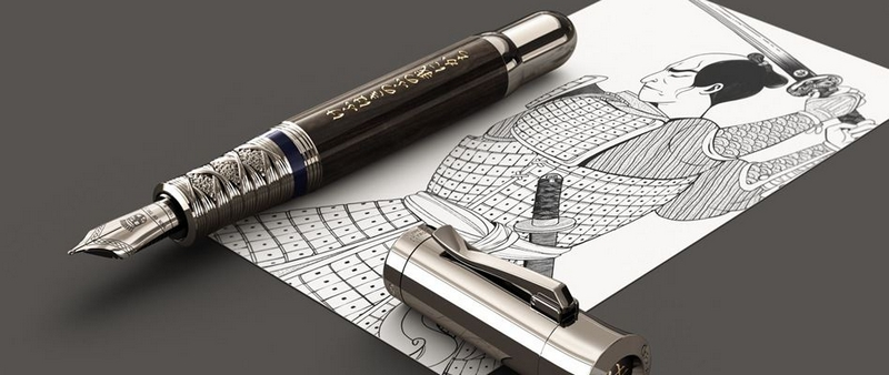 Graff Von Faber Castell Pen of the Year 2019 - Samurai