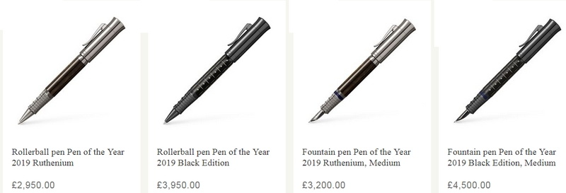 Graff Von Faber Castell Pen of the Year 2019Samurai