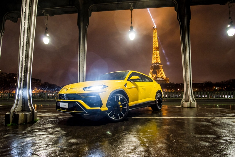 Grand opening of the new Lamborghini showroom in the heart of Paris - Credits Rémi Dargegen Photography