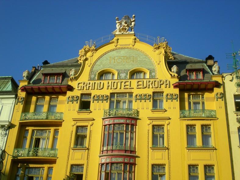 GrandHotelEvropaPrague