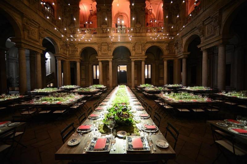 Green Carpet Fashion Awards, Italia - dinner