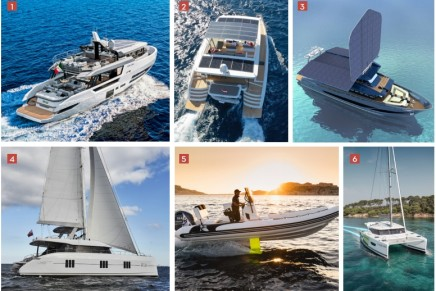 Luxury yachting is not immune to the environmental crisis: Green boats at the 2019 Cannes Yachting Festival