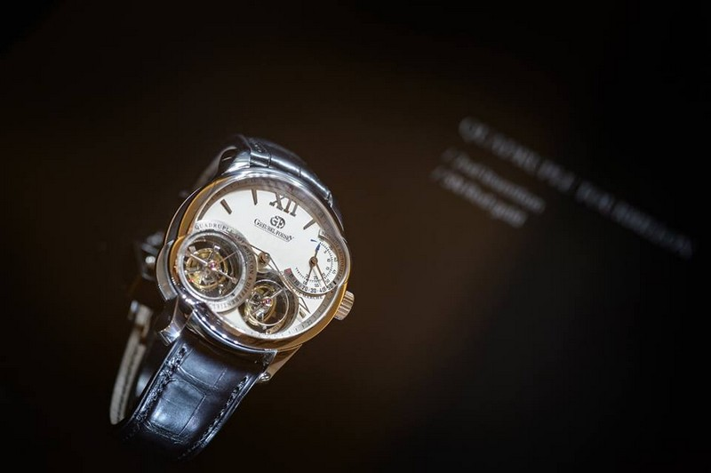 Greubel Forsey exhibition space at SIHH 2017 - the watches 01