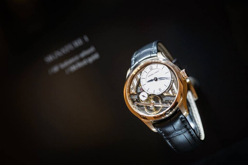 Greubel Forsey exhibition space at SIHH 2017 - the watches 02