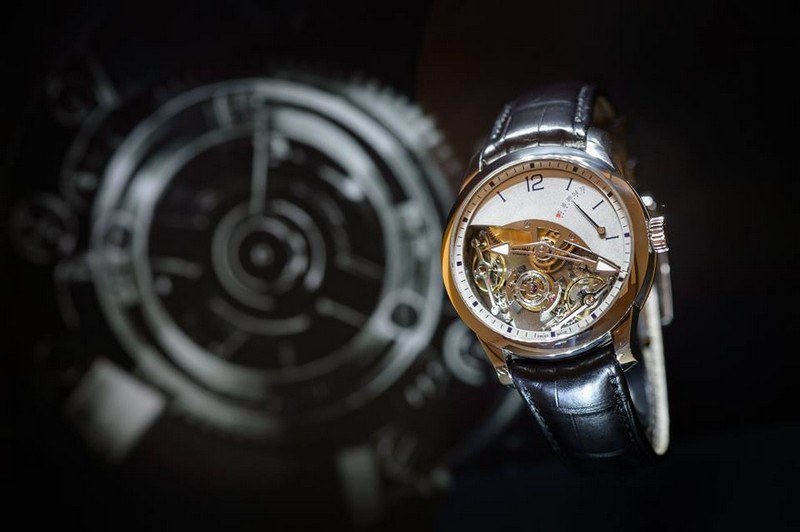 Greubel Forsey exhibition space at SIHH 2017 - the watches 03