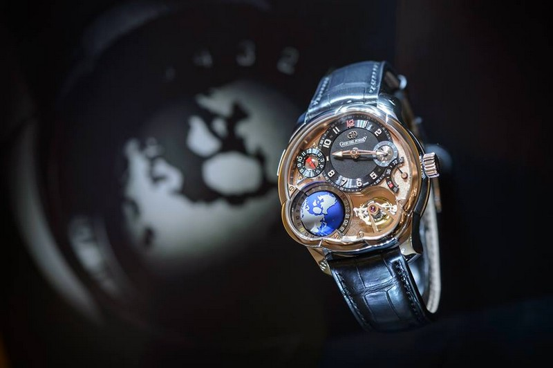 Greubel Forsey exhibition space at SIHH 2017 - the watches 05
