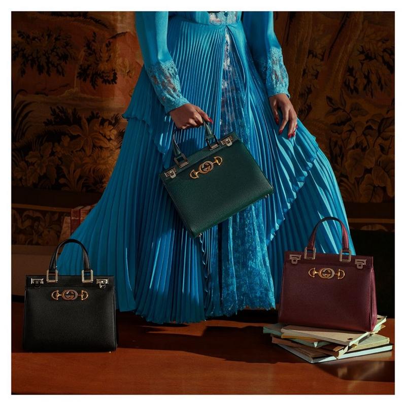 Gucci - A closer look at Gucci Zumi, the new handbag designed by Alessandro Michele