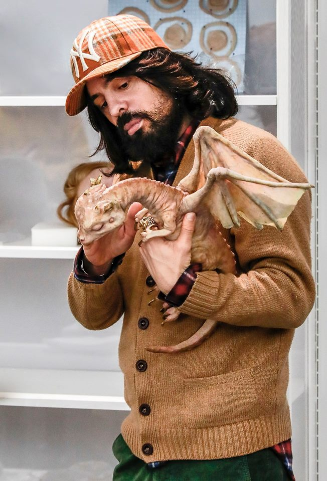 Gucci Creative Director Alessandro Michele worked together with Makinarium for baby dragon