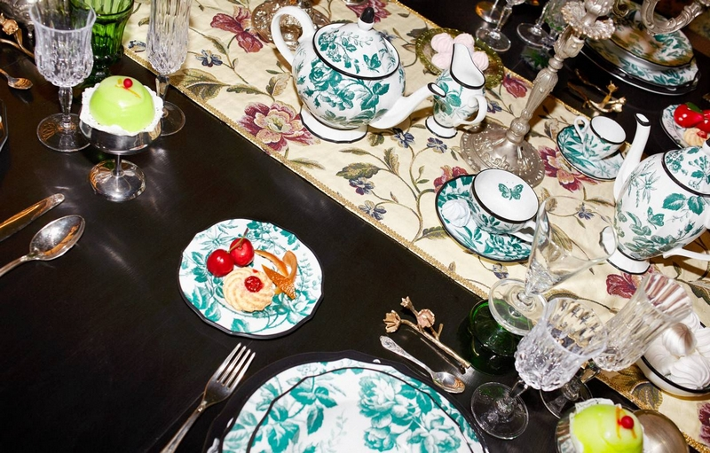 Gucci Décor by Alessandro Michele - Photographed by Simon 2019-porcelain