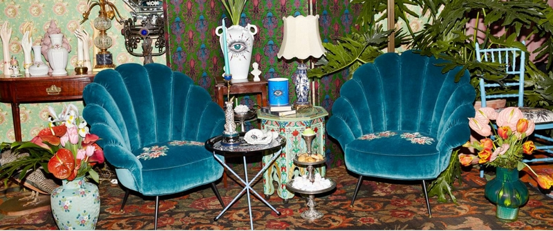 Gucci Décor by Alessandro Michele - Photographed by Simon