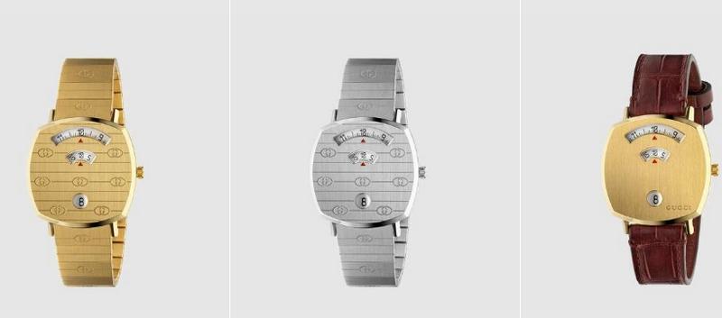 Gucci Grip Watch Line 2019-01