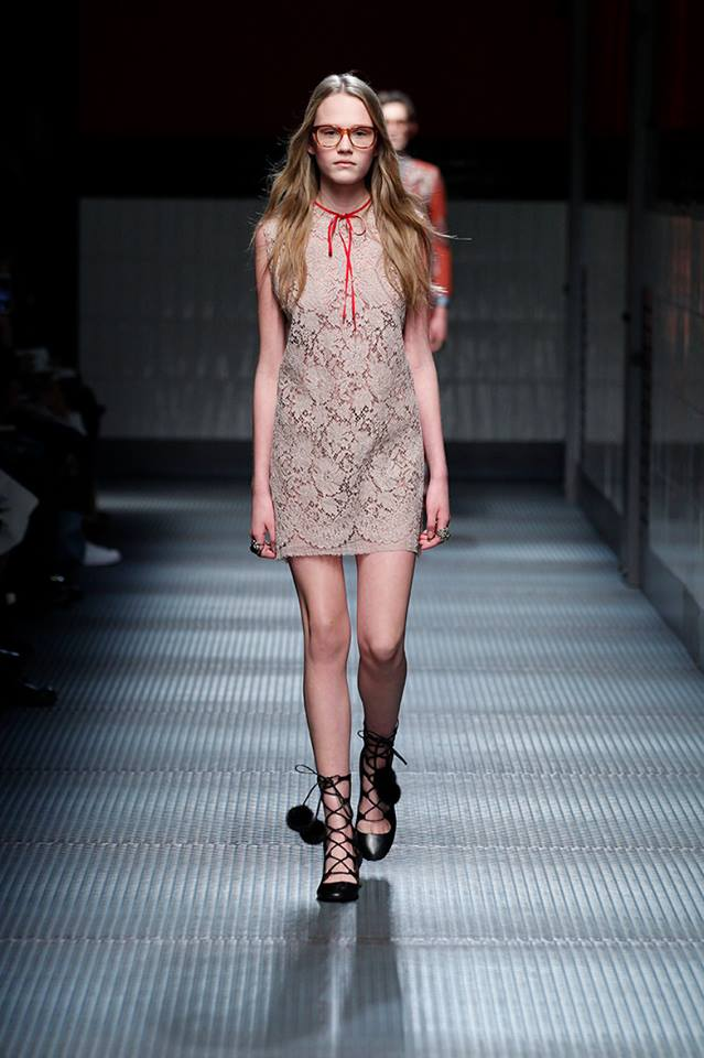 Alessandro Michele makes Gucci debut at Milan Fashion Week