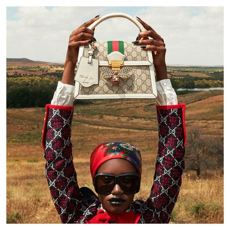 Gucci Queen Margaret top handle bag
