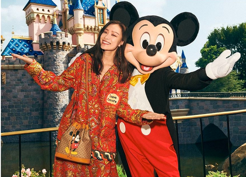 Disney Lana Del Rey And Jared Leto Happy Year Of The Mouse From Gucci 2luxury2 Com