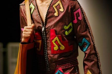 Gucci channels Elton John for its Milan fashion week show