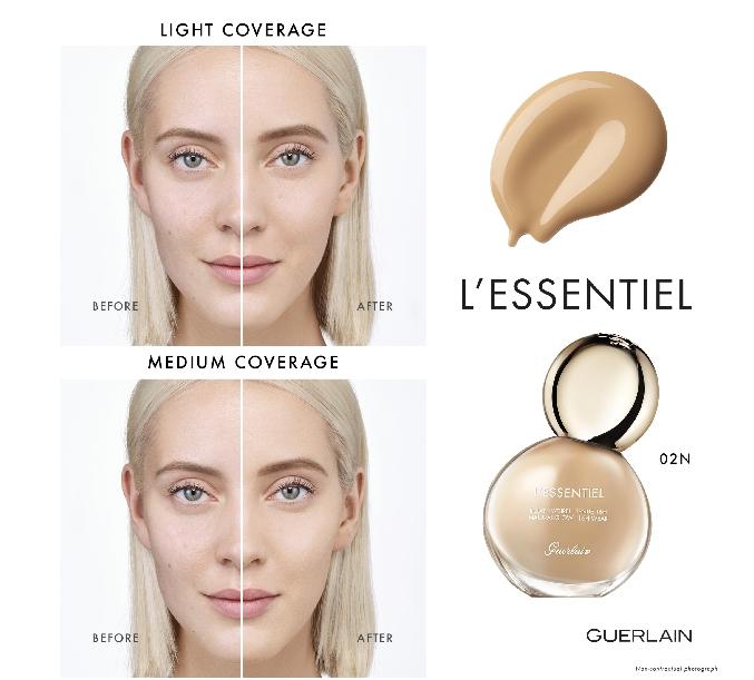Guerlain L'Essentiel, a subtle alliance of skincare and makeup-