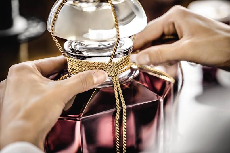 Guerlain Perfume Bottle art