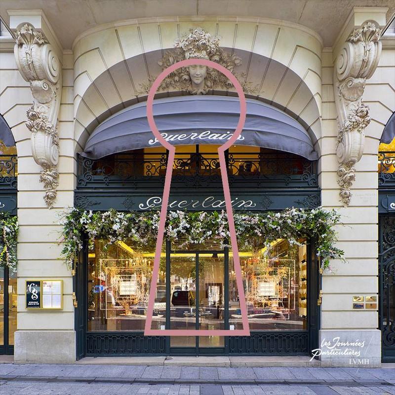 Guerlain emblematic flagship boutique 68 avenue des Champs-Elysées in Paris
