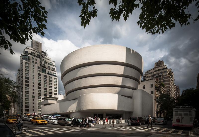 Guggenheim Museum New York by Frank Lloyd Wright