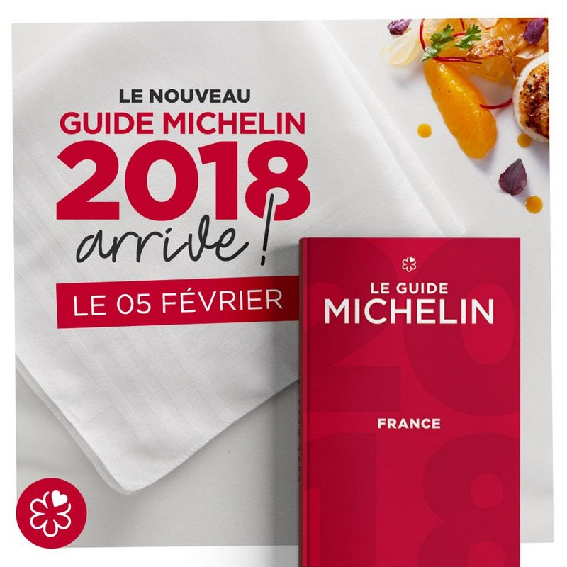 Guide Michelin France announcement