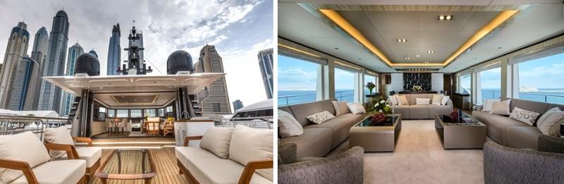 Gulf Craft Majesty 100 interior