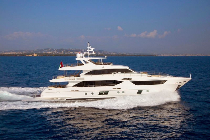 Gulf Craft to Impress at Cannes and Monaco Shows - Majesty 110 superyacht