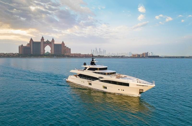 Gulf Craft to Majesty 100 superyacht delivery