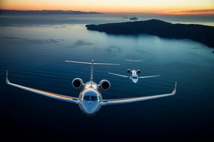 G650ER: There isn't another business jet capable of this mission