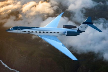 Gulfstream unveiled the most spacious, best-performing aircraft in the business-jet industry