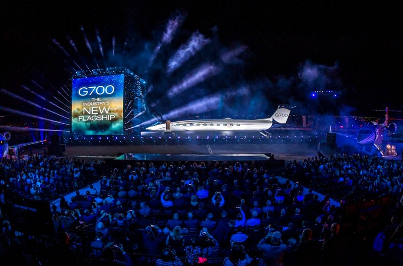 Gulfstream Aerospace unveiled the G700 as its newest flagship-01