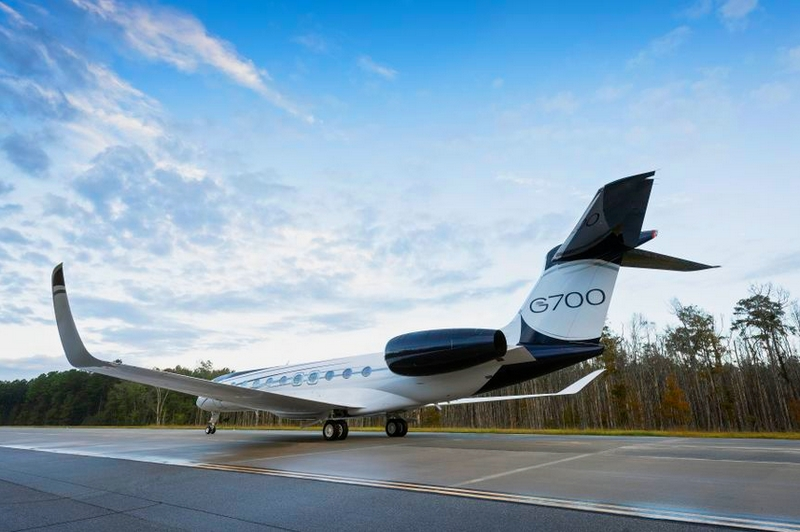 Gulfstream Aerospace unveiled the G700 as its newest flagship