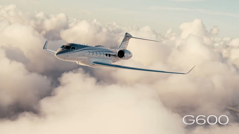 Gulfstream G600 business jet announced a second range increase-