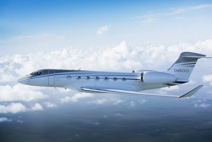 At Mach 0.925: The new Gulfstream G600 business jet announced a second range increase