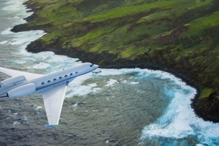 Pack your bags. We're going flying! The first Gulfstream G600 production aircraft took off on its first flight