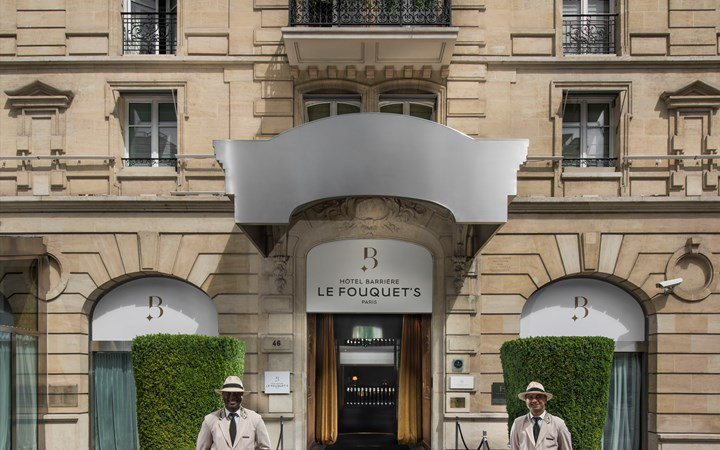 Hôtel Barrière Le Fouquet's Paris in Paris, France- new luxury hotel openings 2017