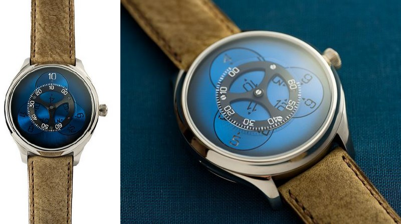H. Moser & Cie Endeavour Flying Hours watch 2018