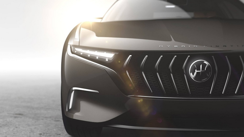 H600 eco-sustainable luxury sedan - designed by Pininfarina for Hybrid Kinetic Group