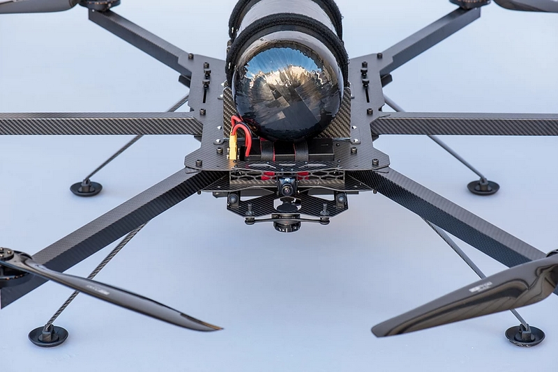 HES Hycopter H2 Drone-details