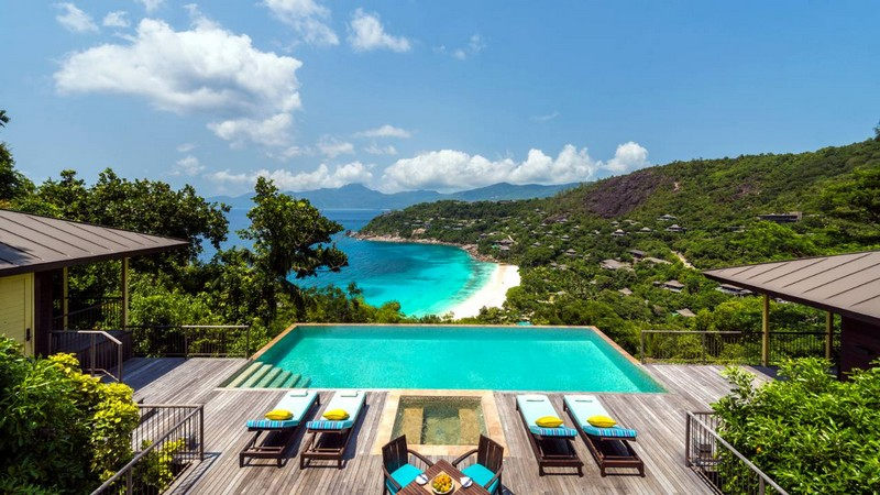 HIlltop Ocean View Suite Four Seasons Seychelles