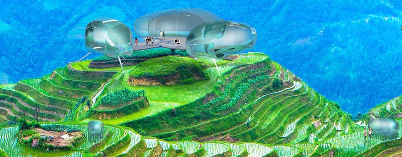 HOK's Driftscape is a self-sustaining mobile hotel