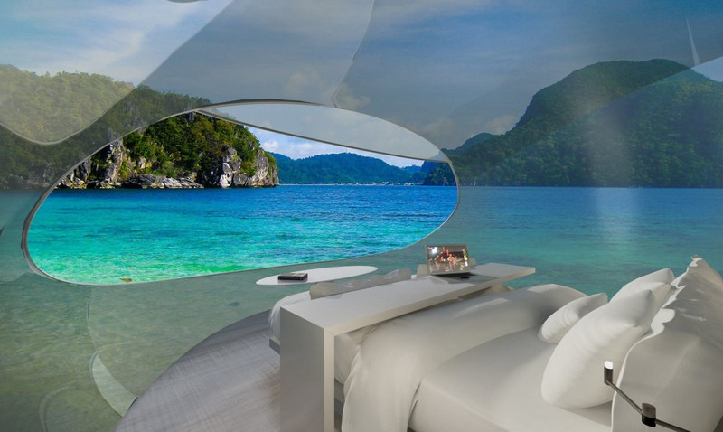 HOK's Driftscape self-sustaining mobile hotel--