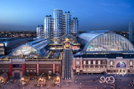 Exciting redevelopment of the Olympia exhibition center London announced by luxury hospitality group