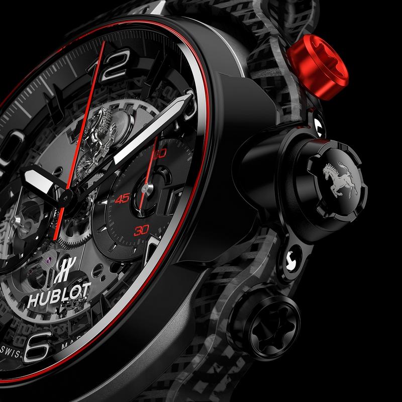 HUBLOT Classic Fusion Ferrari GT watch 2019