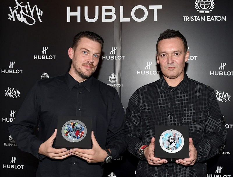HUBLOT PARTNERS WITH STREET ARTISTS HUSH & TRISTAN EATON